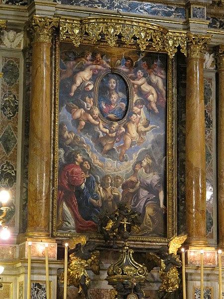 File:Santa maria in valicella, pala di rubens 01.JPG