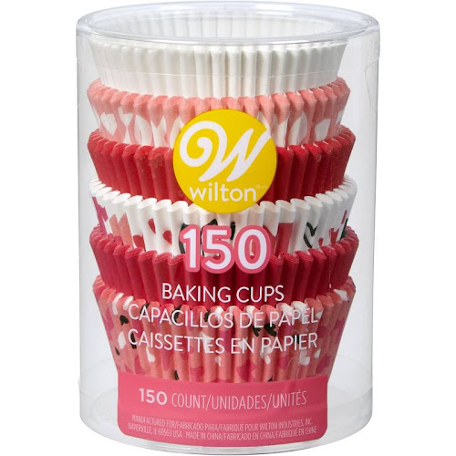 Wilton Traditional Valentine Mix Standard Baking Cups