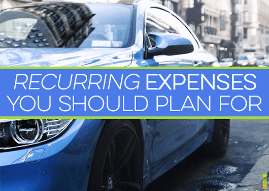 Recurring Expenses You Should Plan For - Frugal Rules