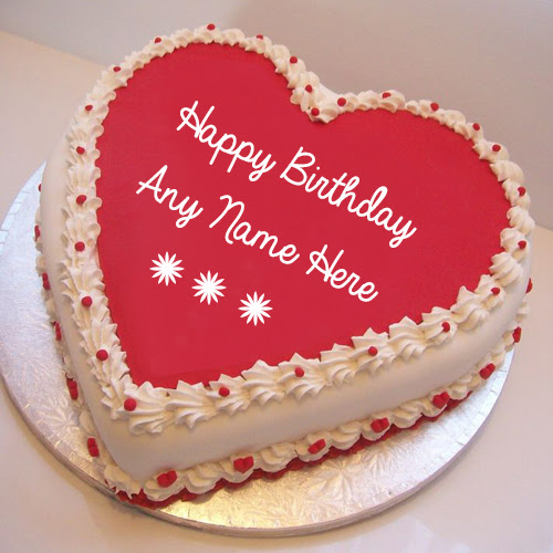 Happy Birthday Cakes With Name On It