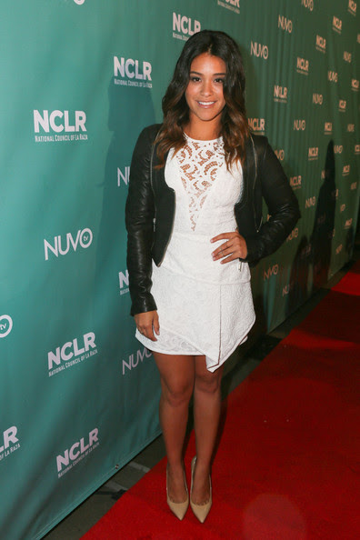Gina Rodriguez - NUVOtv/NCLR Comedy Night With John Leguizamo, Anjelah Johnson And Host Gina Rodriguez