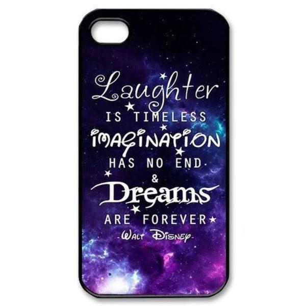 Walt Disney Quotes Phone Cases  iPhone 4 4S iPhone 5 5S