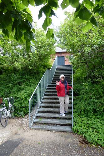 Barbara and Dennis visiting Gadstrup