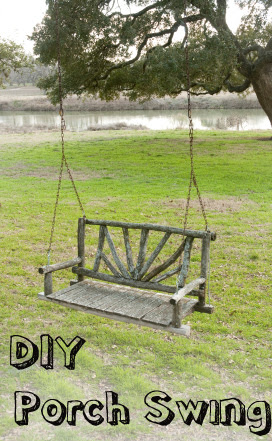 DIY Porch Swing and Porch Bed Ideas | | Sunlit Spaces