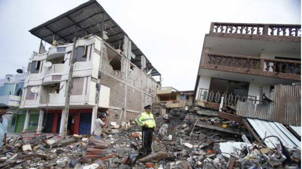 Aquí está la devastación que causó el terremoto en Ecuador