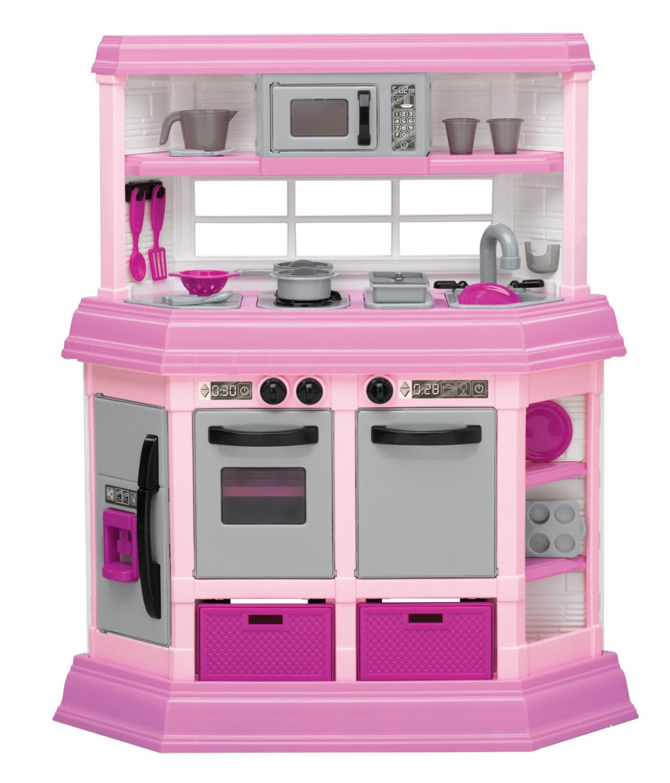 American plastic toy deluxe kitchen