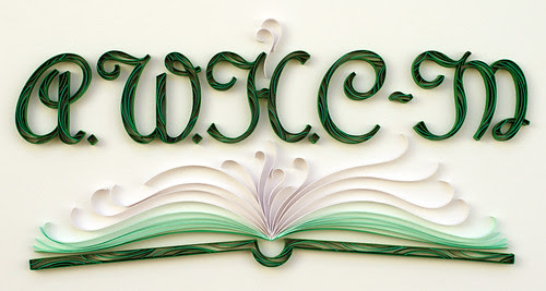 quilled-bookplate