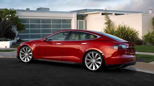 How Tesla's Model S Fared in Insurance Safety Test