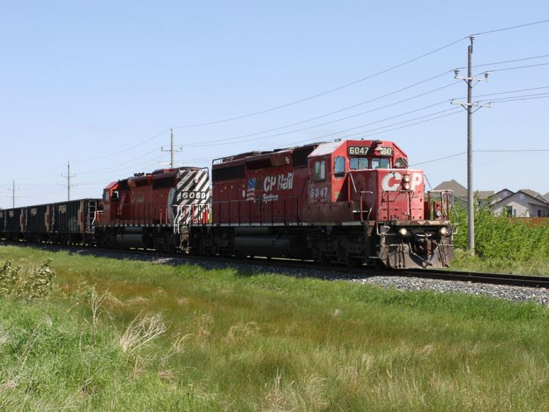 CP 6047 in Winnipeg