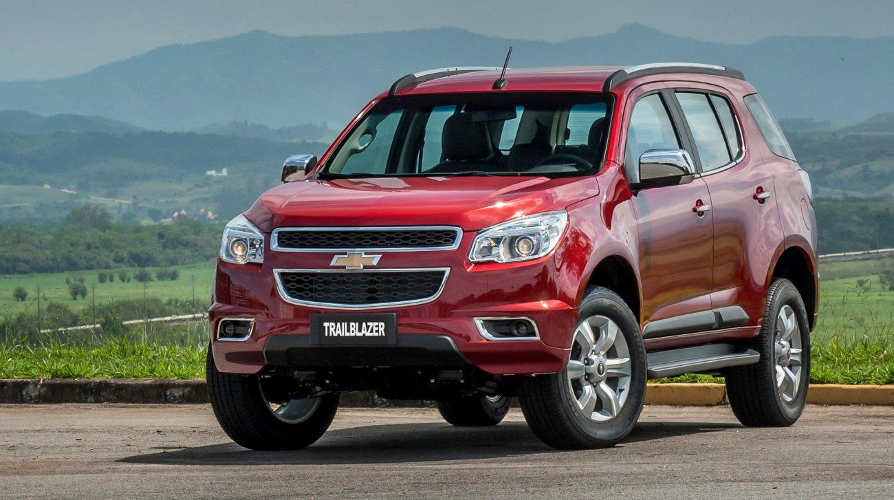Chevrolet TrailBlazer 2016 parte dos R$ 160.890 e tem novas cores ...