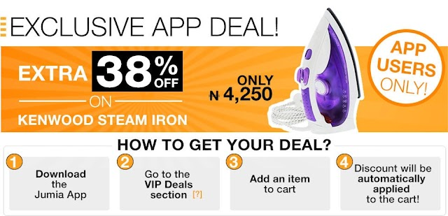DOWNLOAD JUMIA APP  VIA  PORT HARCOURT BLOG AND GET HUGE/FREE SHIPPING DISCOUNTS ON FIRST SHOPPING AND MORE