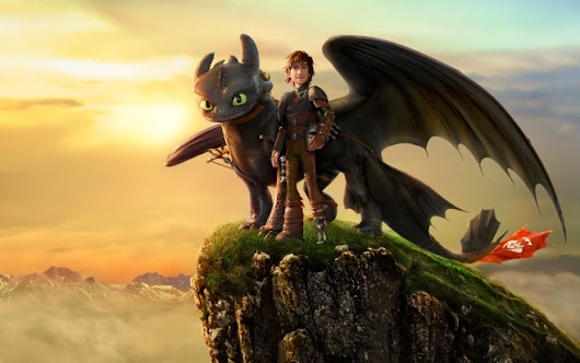 How to Train Your Dragon 2 - Toothless and Hiccup