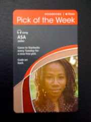 Starbucks iTunes Pick of the Week - Asa - Jailer