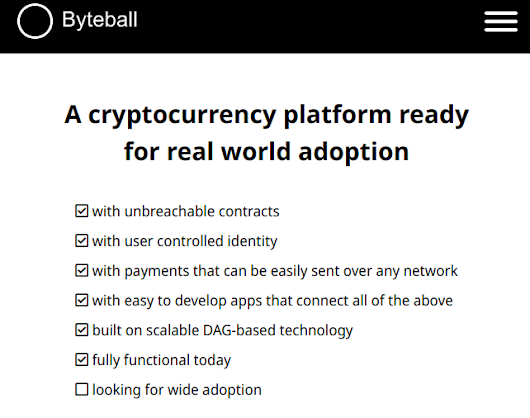 Byteball are doing an 'airdrop' for Steemians — Steemit