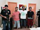 Operação prende 3 suspeitos de tráfico (Divulgação/Polícia Civil)