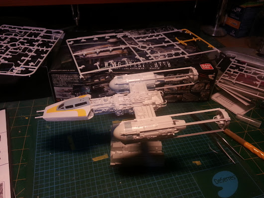 Weekly WIP: Y-Wing and Joker - The General's Tent