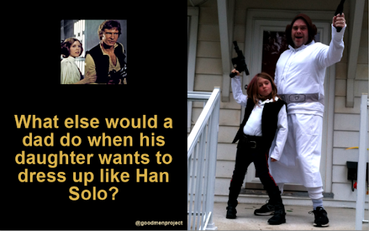 What's a Dad to Do When His Daughter Wants to Dress as Han Solo? -