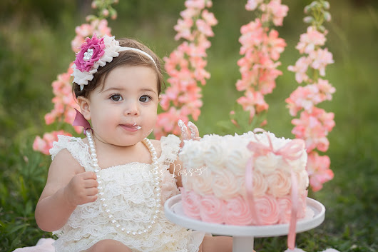 South Florida Baby Photographer | Deerfield Beach | Cora {Cake Smash}