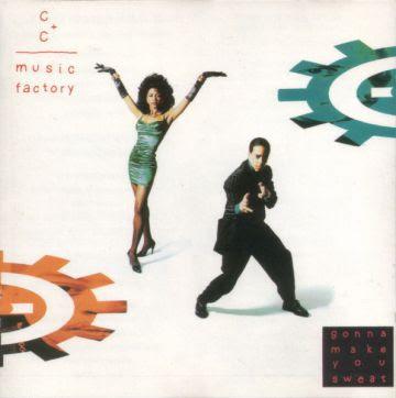 A capa do disco de C+C Music Factory: a mocinha que aparece não é a verdadeira cantora do grupo.