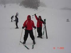 Bermain Ski Kat Ski Resort Perisher Blue, Snowy Mountains, Australia
