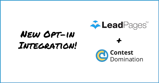 LeadPages Contest (How-To) | ContestDomination