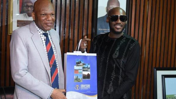 2face Idibia bags OAU's honorary fellow award