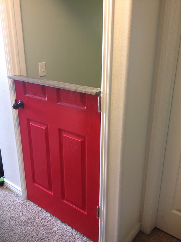 diy half dutch door tutorial