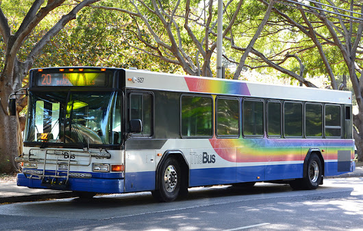 Old City Buses Get New Life as Homeless Shelters in Hawaii