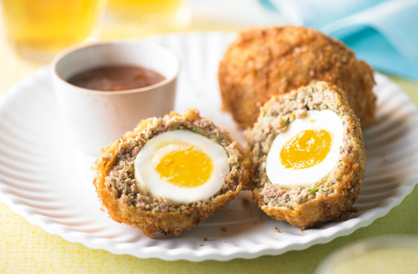 Turkey & cumin Scotch eggs | Tesco Real Food