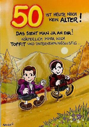 Spruche Zum 50 Geburtstag Geburtstagsspruche Welt