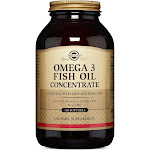 Solgar Fish Oil, Omega 3, Concentrate, Softgels - 120 softgels