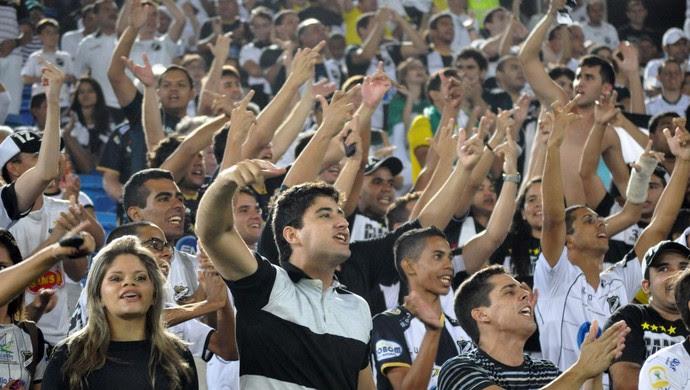 Torcida do ABC - Arena das Dunas (Foto: Frankie Marcone/Divulgação/ABC)