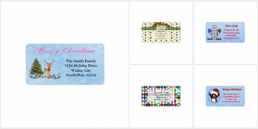 Christmas and Holiday Address Label Collection
