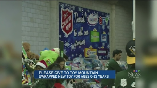 CTV Ottawa: TD support with Toy Mountain