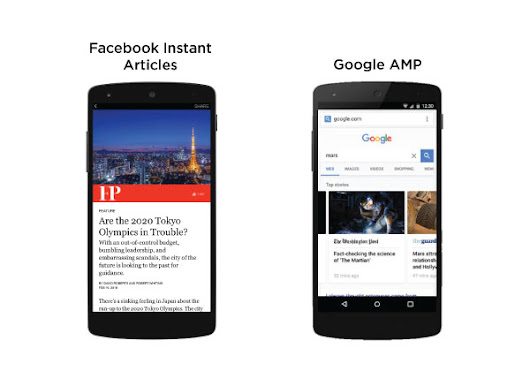 Accelerated Mobile Pages (AMP) и Facebook Instant Articles (FBIA) – защо и двете са важни  |
