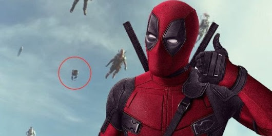 There's Totally an Invisible Mutant in 'Deadpool 2'