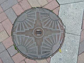 Manhole Cover, Napier