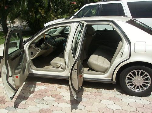 Find used 2003 CADILLAC DEVILLE DHS,FLORIDA 1 OWNER,PEARL ...