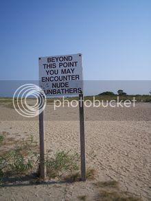 Sandy Hook in New Jersey Shore