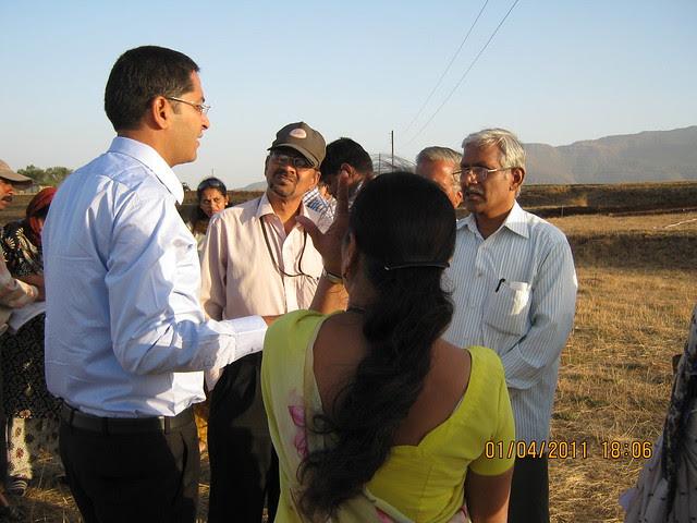 Sangram Deshmukh explains the planning of Dajikaka Gadgil Developers' AnantSrishti Kanhe - Gated community of N A Bungalow Plots, Row Houses & 1 BHK 2 BHK 2.5 BHK Flats