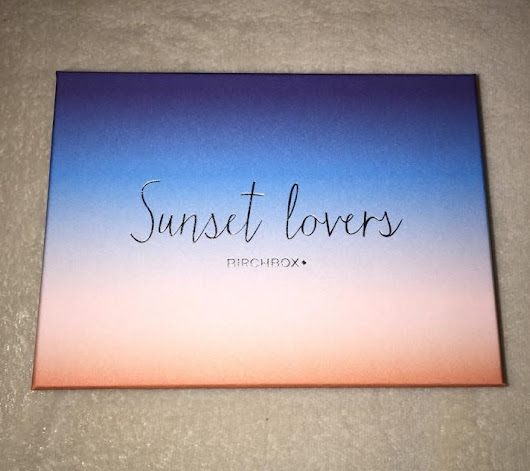 Sunset Lovers | Birchbox Juillet 2015