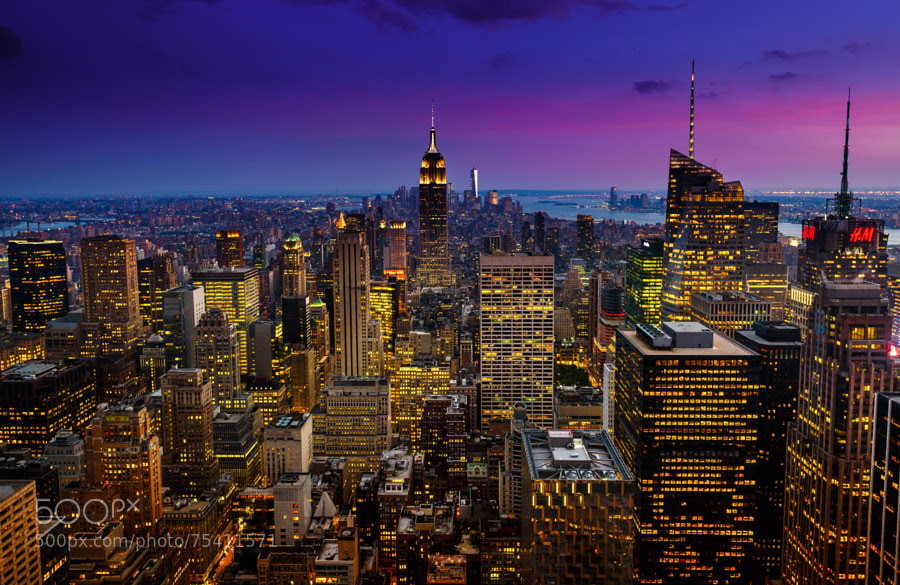 Photograph NYC in Darkness by Yoonsung Cho on 500px