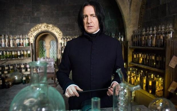 Alan Rickman interpreta Snape em 'Harry Potter e a Ordem da Fênix' (2007)  (Foto: Divulgação/Warner)