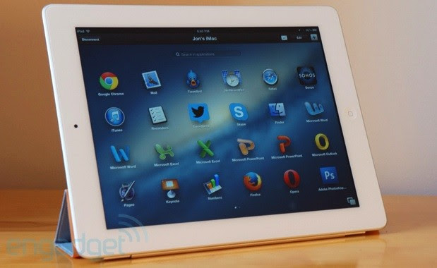 Parallels Access offers iPad users a touchnative virtual machine handson