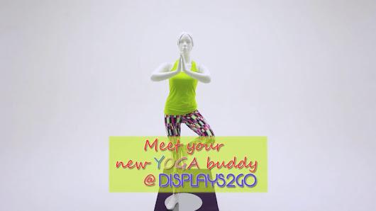Exhibition Shell Yoga : Displays go google