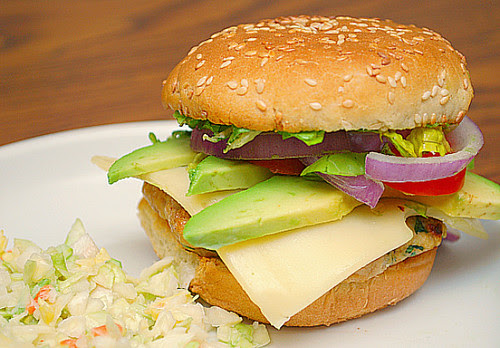 California Chicken Burgers