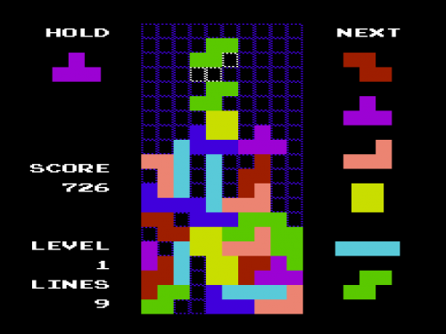 Dropout, New Tetris Clone Released for the VIC-20! | Vintage is the New Old