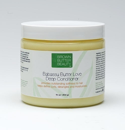 NEW LARGER SIZE - Babassu Cream Deep Conditioner - 16 Ounces