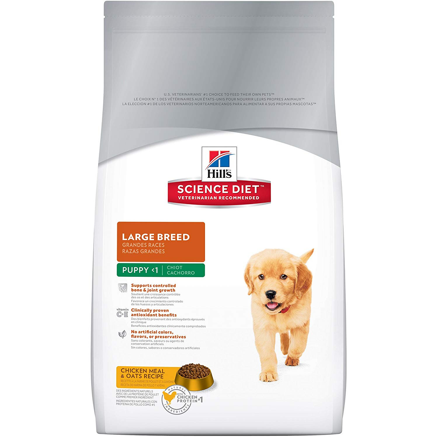 Hill's Science Diet Puppy Large Breed 15kg - Prescription Food
