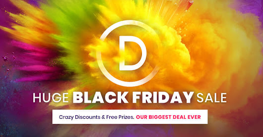 Divi / Elegant Themes Black Friday Discounts and Free Prizes